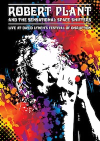 robert plant the sensational space shifters live at david lynchs festival of disruption dvd